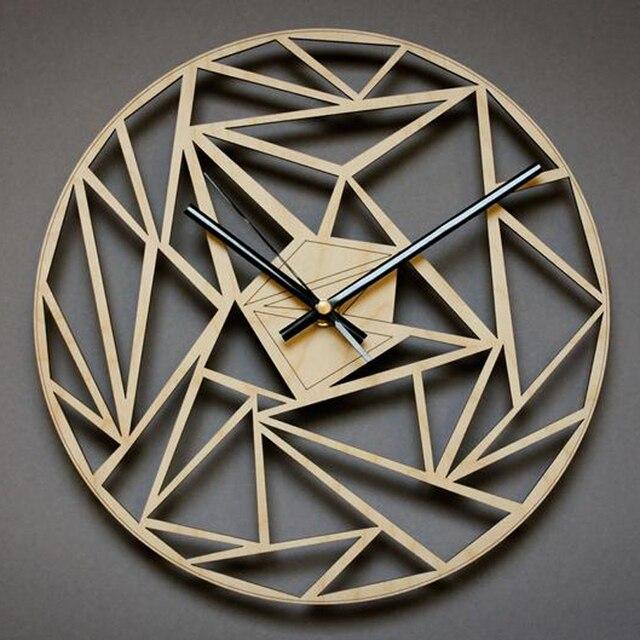 12 Inch Nordic Wooden Wall Clock Wall Clock Wall decor
