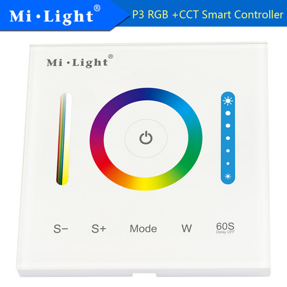 Milight P3 Smart Panel Controller 2.4ghz Led Bulb Controller 5a/channel 15a Led Controller Dc12-24v Rgb Controlers Lights & Lighting