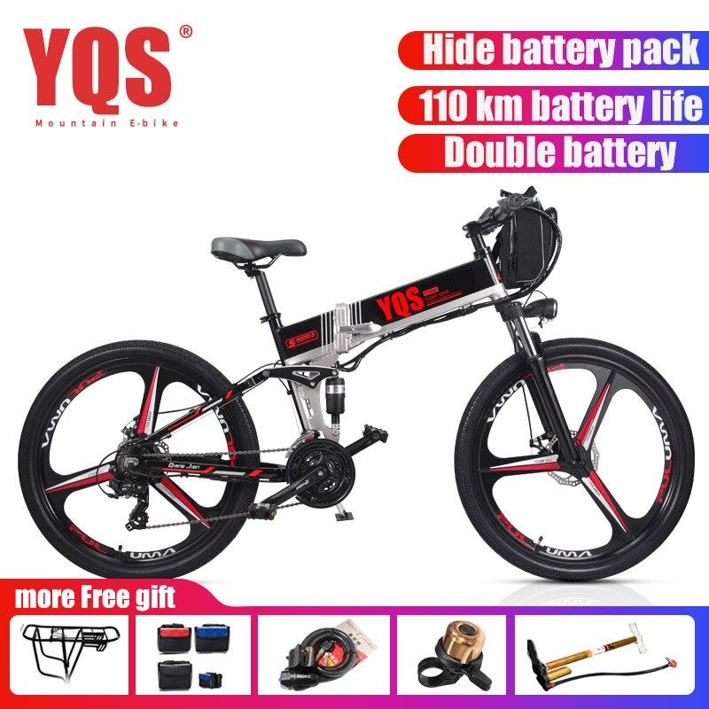 [Taxe européenne gratuite] vélo électrique 21 vitesses 350 W 110 KM batterie ebike électrique 26 vélo électrique hors route biciclet