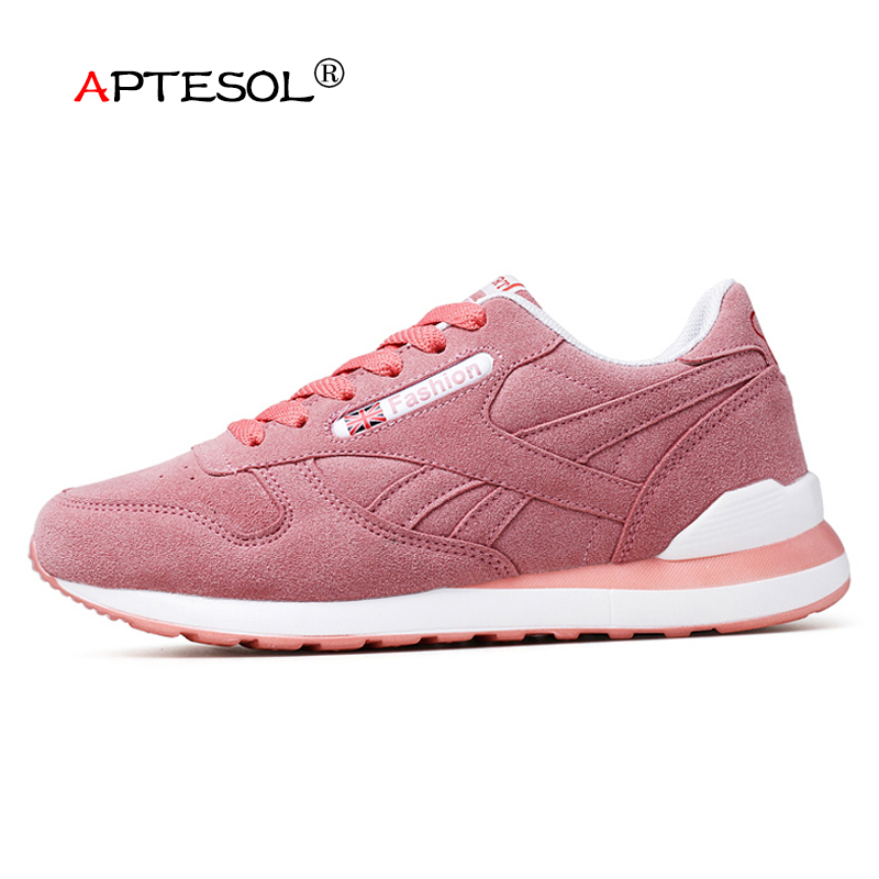 APTESOL Women Fashion Casual Flat Shoes Breathable Damping Female Comefortable Women's Vulcanize Shoes Ladies Walking Sneakers hot sale women vulcanize shoes canvas flat fashion women casual students breathable walking shoes 5 colors plus size 35 44 lx5