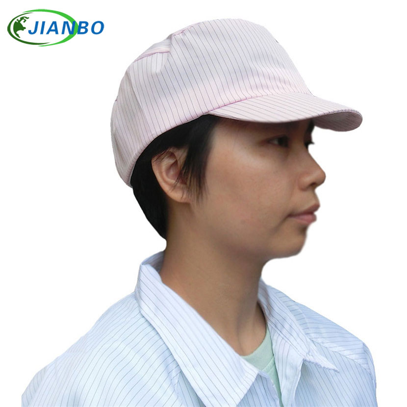 The anti-electrostatic sun hat has no dust car well ventilated hat men and women's open air hide a sun hat dust palliative anti electrostatic decontamination room protection system the medicine have no germ spray a paint connect the body take