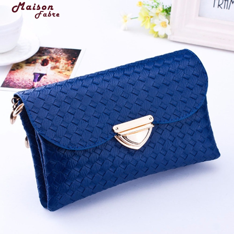 New FashionNew Designer Womens Messenger Bags Leather Small Crossbody Shoulder Bags Women Blue Casual Bag Dollar Price inc 5858 new womens blue printed embellished open shoulder blouse top s bhfo