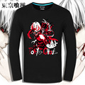 Tokyo Ghoul T Shirt men Long sleeve anime Tokyo Ghoul t shirt  Fittness short-sleeve Tokyo Ghoul T-shirt men tshirt