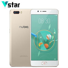 Original Nubia M2 4GB RAM 64GB ROM 5.5 inch SuperAmoled Screen Smartphone Snapdragon 625 Octa Core 2.0GHz LTE 26W QuickCharge