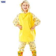 Poncho Kids Raincoat Rain Pants Waterproof  Rain Coats Eco-friendly Material  Hooded Kids Raincoat