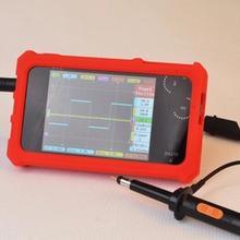 CCDSO Мини цифровой осциллограф DS212 DSO212 Thumb Wheel 1 МГц 8 МБ ЖК-Дисплей Карманный Osciloscopio+ силиконовый чехол