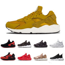 5f7443de6096d 2018 gold Huarache 4.0 IV 1.0 Running Shoes Classical Triple White Black  red men women Max