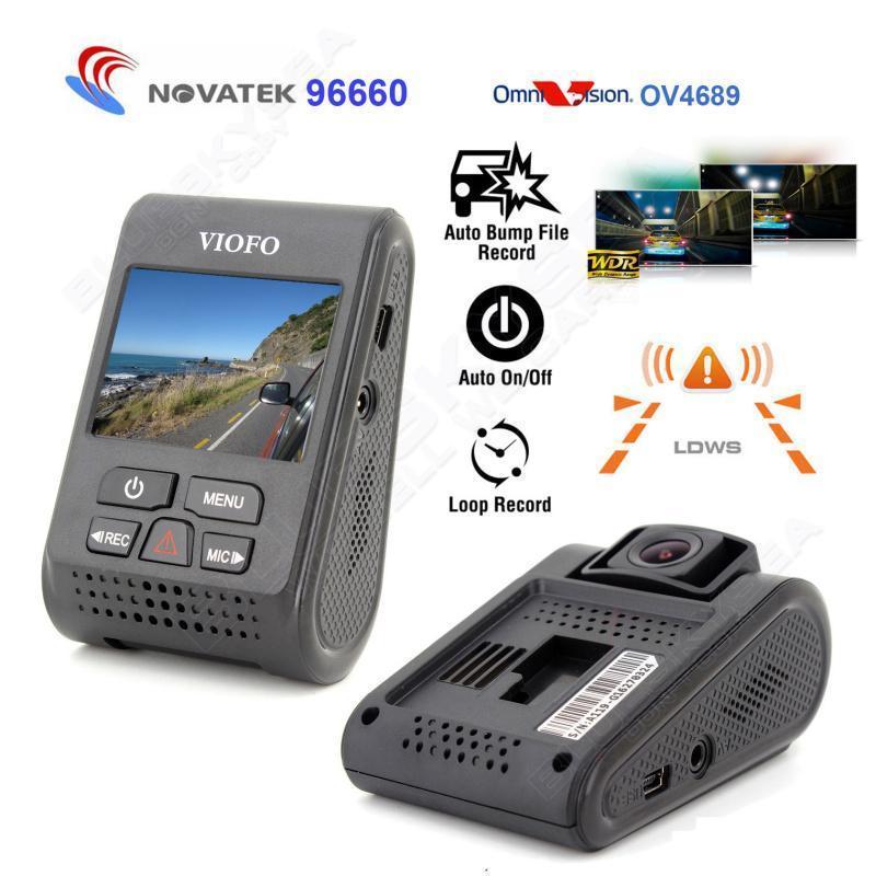 """Original  VIOFO A119 V2 2.0"""" Screen Capacitor Novatek H.264 2K HD 1440p Car Dash Camera DVR(Upgraded Version)"""