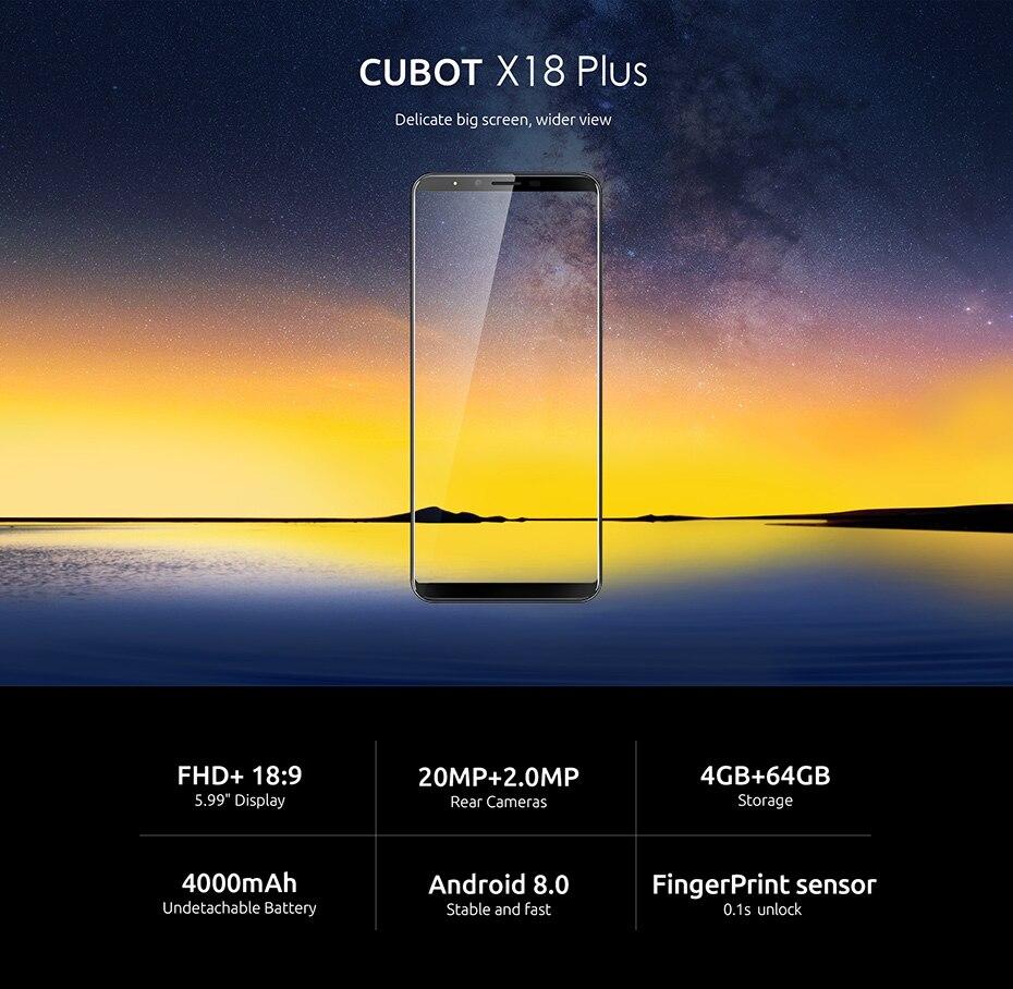 Cubot X18 Plus1
