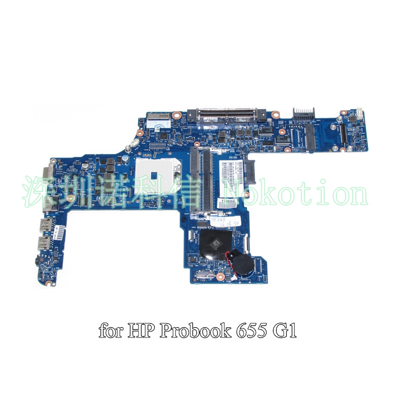 NOKOTION 745888-001 745888-601  For HP probook 645 655 G1 laptop motherboard DDR3 6050A2567102-MB-A02 nokotion sps v000198120 for toshiba satellite a500 a505 motherboard intel gm45 ddr2 6050a2323101 mb a01