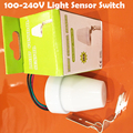 Outdoor Intelligent waterproof 110-240v light/photo control sensor switcha automatic photocell switch for lamps 1pc YY
