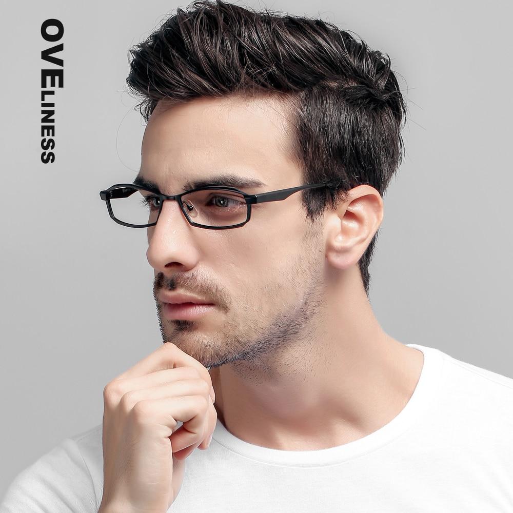 Brand Glasses P8718 Titanium Eyeglasses Frames Men Optical Glasses spectacle Frame Mens Eyewear Frames suit Prescription Lenses