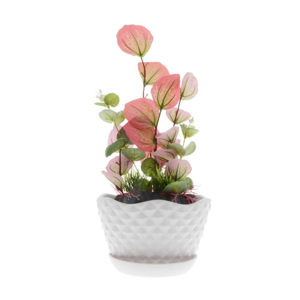 3pcs/lot  19*14*12CM New Flower Pots Cute Flowerpot Garden Unbreakable Plastic Nursery Pots for Succulent plants For Home Plants