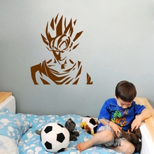 Dragon Ball Z Stickers Super Saiyan Goku Decal For Laptop Car Wall Decor