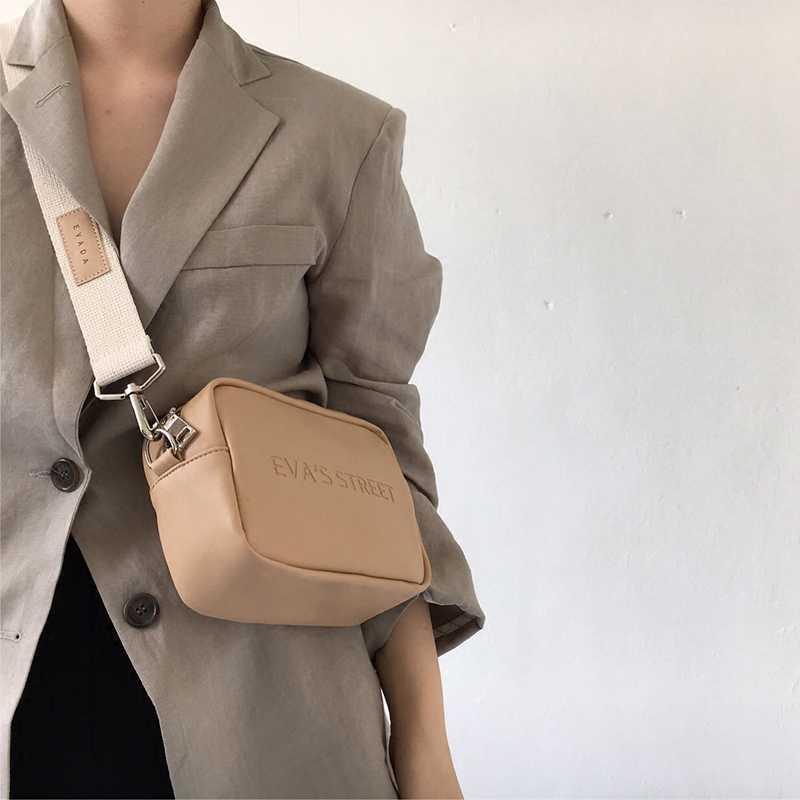 Aliwood Marke Designer Leder Frauen tasche Damen Schulter Messenger Taschen Handtasche Brief Klappe Einfache Mode Frauen Umhängetasche