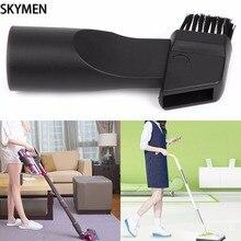цена на SKYMEN Universal Vacuum Cleaner Parts 2-In-1 Flat Suction Brush Head Inner Dia 32mm