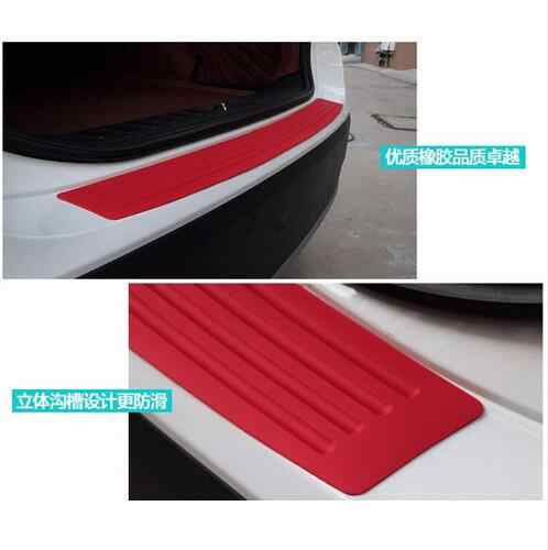 Заднего бампера резиновая защита наклейки для ваз LADA XRAY Веста Калина 21941 2194 Honda Accord 7 8 9 10 civic ясности CR-V