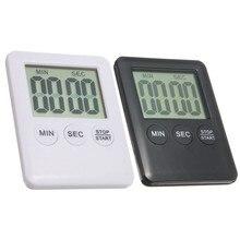 Жк-магнитные отсчета прочное обратного яйцо минут электронной кухонный таймер качество цифровой