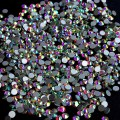 Crystal AB Rhinestones for Nails Design Strass Nail Art Decorations New Arrive SS3 Glas Rhinestones Manicure 1440PCS ZJ1086