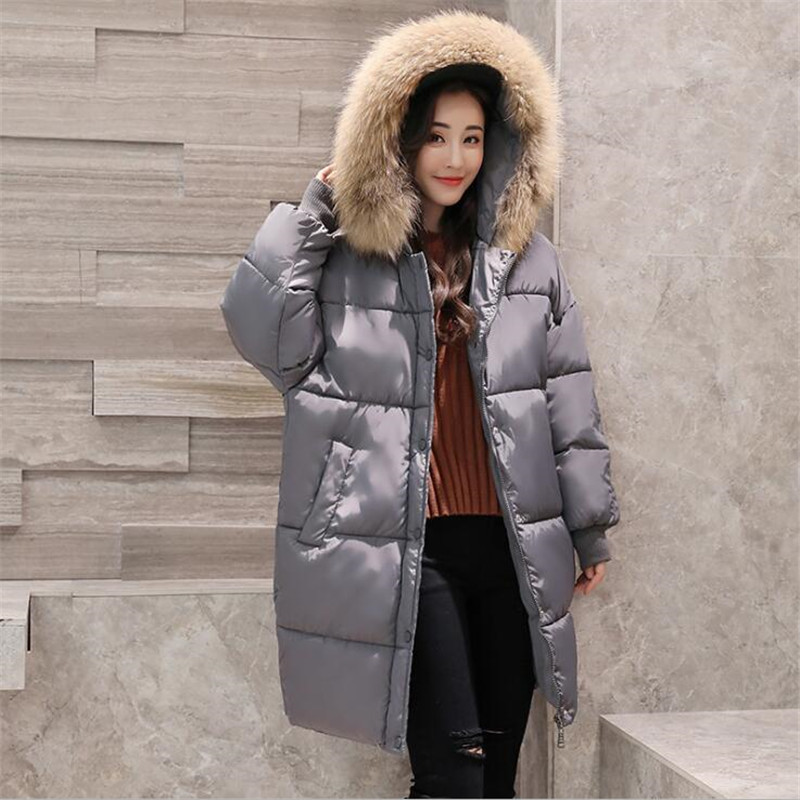 New Women Thick Coat Jacket Cotton Hooded Parka Winter Thick Coat European and American Style  Fashion Brand Outwear Coat  A3732 2014 new european and american style high collar coat fur clothing brand men s fashion casual plaid cotton jacket