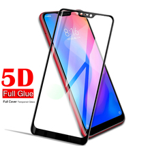 5D For Xiaomi Mi A2 Lite Tempered Glass MiA2 Lite Screen Protector Xiomi Mi A2 A 2 Lite A2Lite Global Version Glas Film Cover телефон xiaomi mi a2 lite 4gb 64gb золотой global version