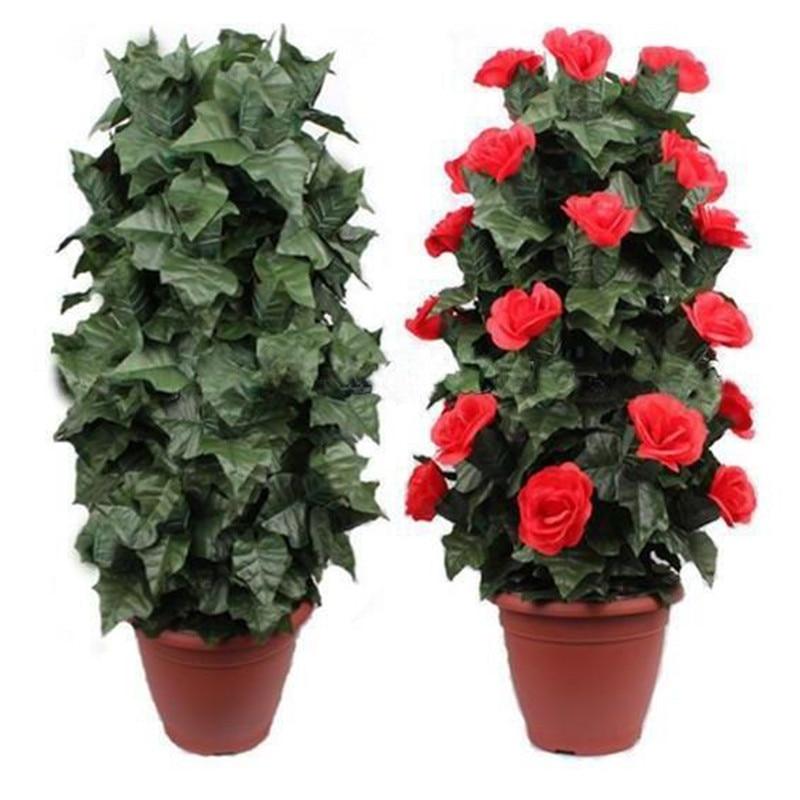 Brousse de Rose en fleurs-télécommande-30 fleurs, tours de magie, mentalisme, magie des fleurs, comédie, accessoires de magie de scène, accessoires de magie