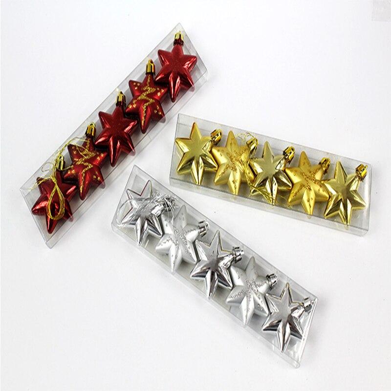 unids nueva barato estrella del rbol de navidad decoracin de navidad regalo de ao nuevo