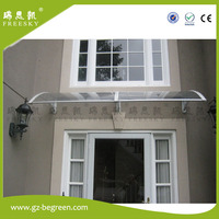 YP60160 60x160cm Shelter Canopy Door Canopy Rain Canopy Rain Awning Entrance Cover Window Cover Polycarbonate Awning