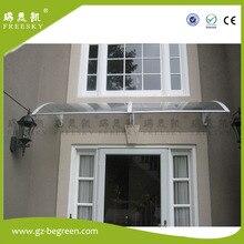 YP60160 60×160 см, 23.6 «x 63» жильем сени дверь, дождевая крыша, дождь тент, вход крышка, стекла крышка, поликарбонат тент