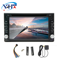 double din 7 Inch Android 7.1 Car DVD For Peugeot 207 2007 2014 Auto Radio GPS Navigation Audio Video WiFi Bluetooth DVD Player