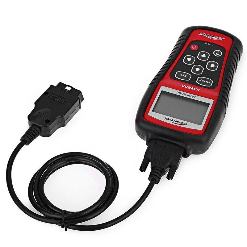 Professional EOBD OBD2 OBD II Scanner Car Computer Vehicle Diagnostics Tool Same With MS509 Auto Code Reader Engine Reset Tool