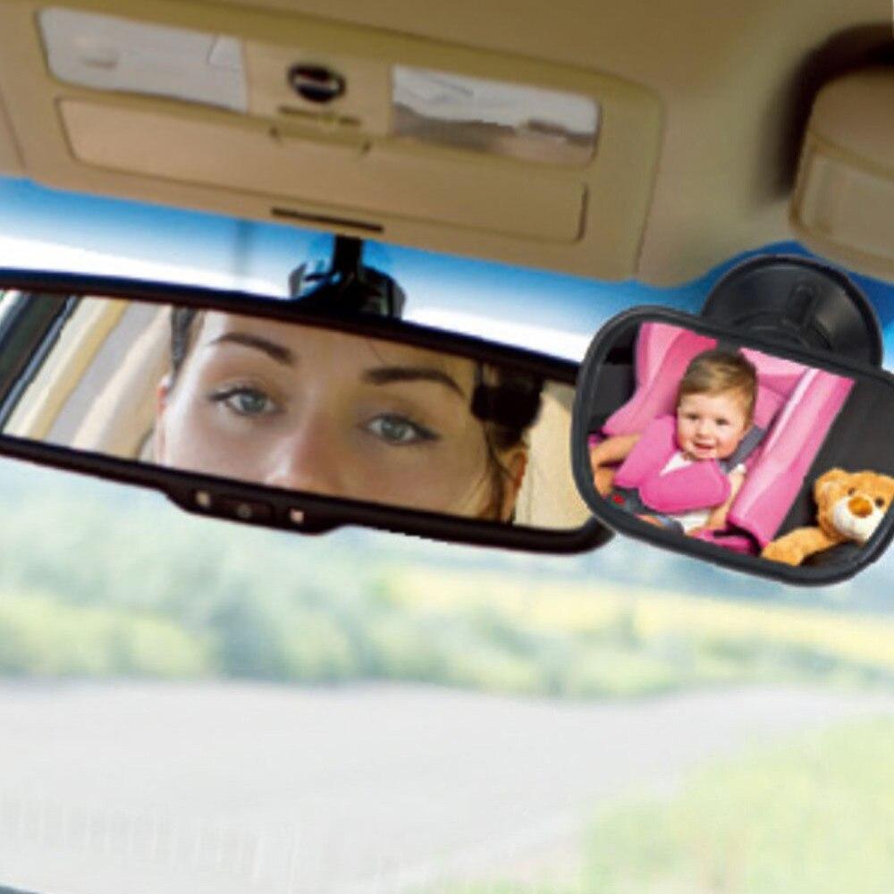 Tyrol T22614a Mini Voiture Bébé Rétroviseur 2 DANS 1/Voiture arrière Bébé Sécurité Convexe Miroir pour Voiture Réglable Bébé Miroir Livraison Gratuite