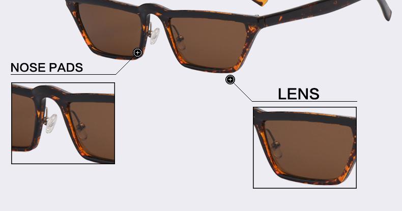 HTB1qJZuaQfb uJjSsrbq6z6bVXaF - Winla Fashion Design Women Sun Glasses Flat Top Sunglasses Square Frame Classic Shades Vintage Eyewear Oculos de sol WL1145