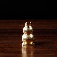 Copper gourd incense holder perfume brass base burner Incense coil burners Joss sticks Religious