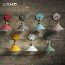 הנורדי המודרני Macarons מטריית אור מסעדת קישוט קיר בית תפאורה חדר שינה סלון מנורת מדרגות מעבר שליד המיטה
