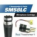 Бесплатная доставка!! капсула Картридж Для SM 58 SM58LC, SM58S, SM58SK Проводной Микрофон, капсула Кардиоидный Динамический Прямая Замена