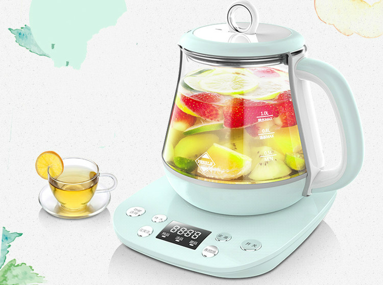 Multi-function miniature health pot full automatic flower fruit tea boiling water medicine Safety Auto-Off Function chinese tea ningxia goji berry fruit health beauty 250g f171