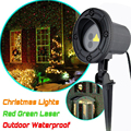 Outdoor Laser Christmas Light Show Projector RG Star Projection Shower for House Party Yard Garden Tree Lighting