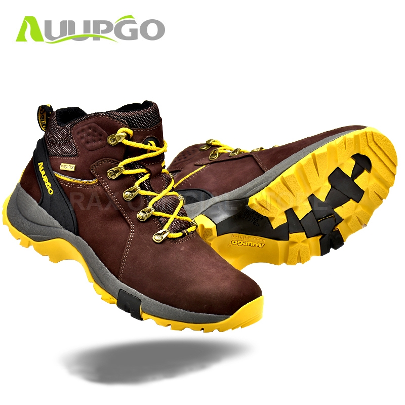 CA Waterproof Hiking Shoes For Men Breathable Winter Hiking Boots Men Lightweight Climbing Sport Shoes Hiking Mountain Boots Man mulinsen winter2017 tactical boots hiking shoes for men climbing mountain sport shoes man brand ankle boots men s sneakers