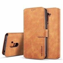 Retro Leather Flip Case For Xiaomi Pocophone F1 9T Pro Redmi