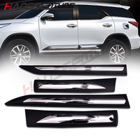 Accessories car body kit outside door trim body cladding kits For Fortuner 2016 2017 2018