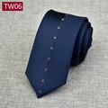 The Geometric Stripe Floral Print Black Polyester Silk New Jacquard Woven Classic Men's Tie Party Necktie Wedding Office Man Tie