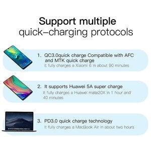Image 5 - Baseus 30 ワット急速充電 4.0 3.0 usb充電器は過給デュアルusbタイプc pd 3.0 急速充電器iphone x xs huawei社 5A