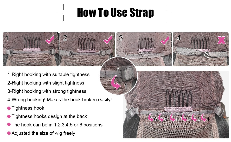 HOW TO USE STRAP