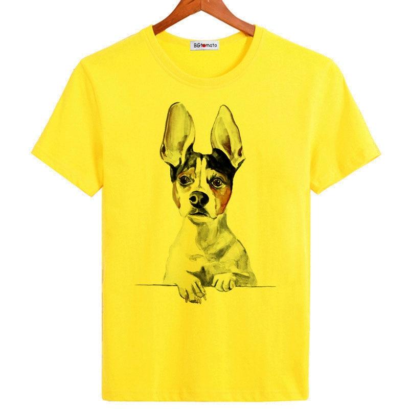 BGtomato Loyal dog men Friendship cool t shirts Original brand cheap sale breathable modal cotton shirts