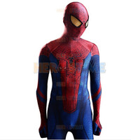 Spiderman 2 Halloween Superhero Costume Amazing Spider man 3D Original Movie Halloween Cosplay Spandex Spiderman Zentai Suit