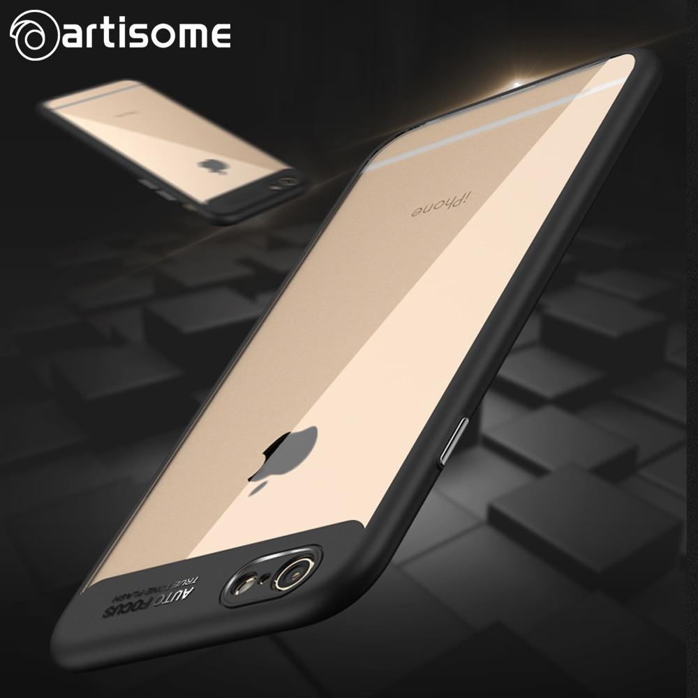 Artisome Helt skyddande fodral för iPhone 6 6S 7 8 Plus X-fodral - Reservdelar och tillbehör för mobiltelefoner - Foto 3