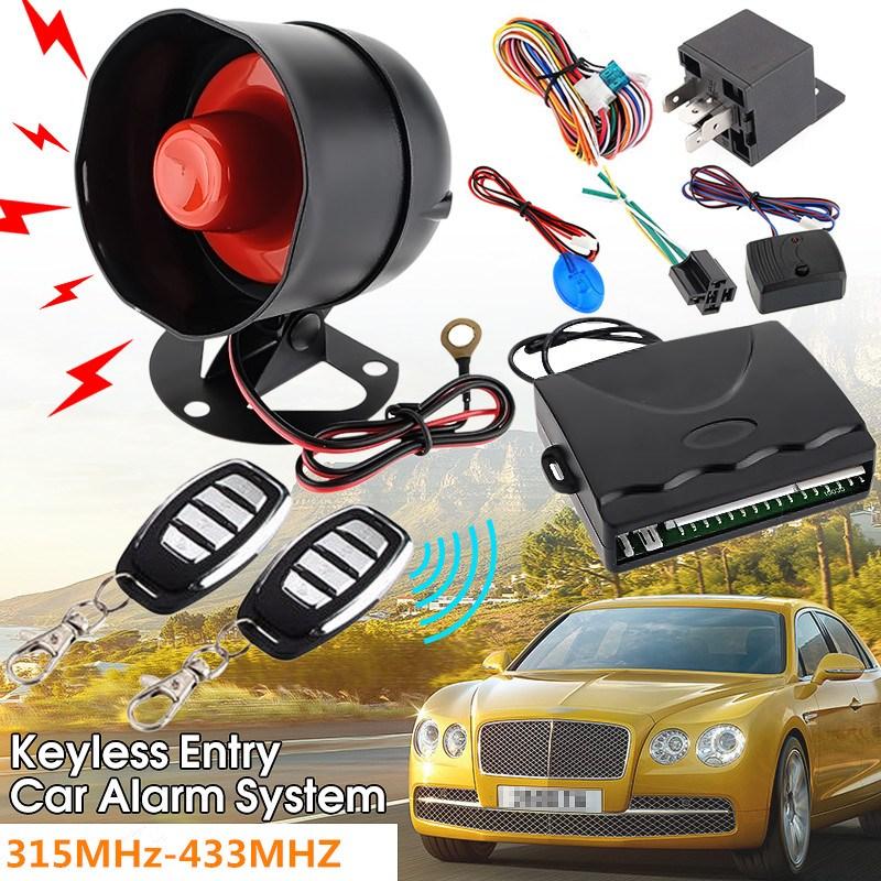 Universal HA-100A 1-Way Car Vehicle Protection Alarm