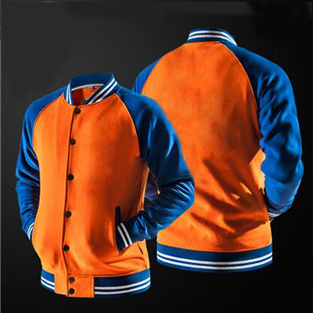 2019 new spring  baseball jacket  no hat DIY printing, to map custom clothing, USA size.