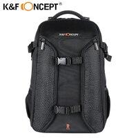 K & F CONCEPT водостойкий цифровой DSLR фото мягкий рюкзак w дождевик ноутбук 15,6 мульти функциональная камера Мягкая Сумка видео чехол